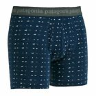 Patagonia Essential 3 In Mens Underwear Boxer Shorts - Stone Blue All Sizes