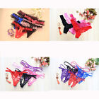 1/3/5 Ladies Sexy Lace Strappy Thong Berif G-string Knickers Underwear Lingerie