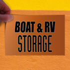 Decal Sticker Boat & Rv Storage #1 Style B Business Storage Outdoor Store Sign