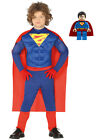carnival Costume Superman superhero with muscles dress muscled deluxe 8849_