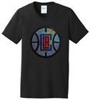 Women's Los Angeles Clippers Bling Basketball Ladies Bling T-Shirt Shirt S-4XL on eBay