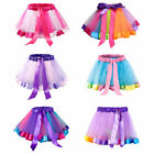 Внешний вид - Children Toddler Girl Ballet Dance Ruffles Pleated Tutu Skirt Fancy Glitter 0-8T