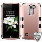 For LG Treasure/Tribute/K7 TUFF Shockproof Hybrid Phone Protector Case Cover