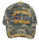 Military Iraq War Veteran with Ribbon Adjustable Hat