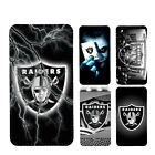 wallet case Oakland Raiders iphone 7 iphone 6 6+ 5 7 X XR XS MAX case $17.99 USD on eBay