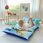 Butterfly Craze Kid'S Floor Pillow Bed Cover Use As Nap Mat Portable Toddler