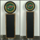 Minnesota Wild Hockey Puck Chalkboard Tap Handle $49.99 USD on eBay