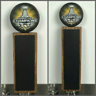2017 Stanley Cup Champions Pittsburgh Penguins Hockey Puck Chalkboard Tap Handle $51.99 USD on eBay