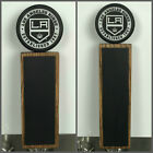 Los Angeles Kings  NHL Hockey Puck Chalkboard Tap Handle LA $50.99 USD on eBay