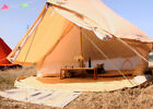 5/6M Canvas Bell Tent Waterproof  Camping Glamping Inner Tent Yurt Stove Jack