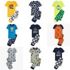 NWT Gymboree Short Sleeve Top and Pants 2-pc Pajamas Set