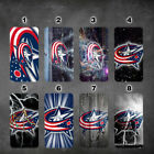 wallet case Columbus Blue Jackets iphone 7 iphone 6 6+ 5 7 X XR XS MAX case $17.99 USD on eBay