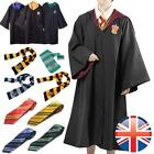 Adult Kids Harry Potter Hogwarts Cosplay Robe Tie Scarf suit Fancy Costume hot!