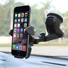 In Car Suction Phone Holder Dashboard Windscreen Universal Mount Various Colors