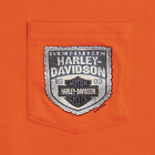 R003030 Harley-Davidson® Thread patch Pocket T-Shirt $35.0 USD on eBay