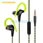 Waterproof Sport Running Headphone Stereo Bass Headset With Mic for Mobile Phone