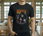 New Popular KISS Creatures Of The Night Men's Black T-Shirt S-3XL image