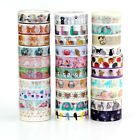 Внешний вид - 10m Cute Washi Tape Animal Set DIY Planner Masking Tapes School Office Supplies