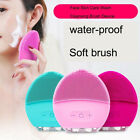 NEW Silicone Facial Cleanser Face Deep Pore Cleansing Massage Brush Facial Care