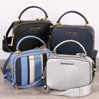 New Michael Kors KARLA Top Handle Camera Bag Leather Crossbody In Various Colors