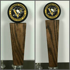 Pittsburgh Penguins NHL Hockey Puck Solid Oak Tap Handle $44.99 USD on eBay