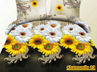 12 White Yellow Chamomiles 3d Bedding Set 50/50 Poly/Cotton Twill Flower Print image