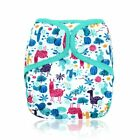 Waterproof Happy Flute OS Baby Cloth Diaper Cover With or Without Bamboo Insert