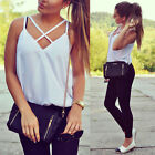 New Women Summer Sleeveless Vest Top Shirts Blouse Casual Tank Tops T-Shirt