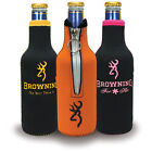 one Browning &T. RealTree  Bottle Coolers Koozie Keep-it Cold/Zipper,Choose one