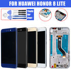 For Huawei Honor 8 Lite LCD Display Touch Screen Digitizer Assembly + Frame