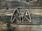 Star Trek Starfleet Insignia Cookie Cutter Cupcake Topper Fondant Design 2 on eBay