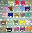 Adult  Nuke size 6 Silicone Pacifier / Dummy in 25 COLOR OPTIONS!!!