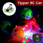 360° Tipper Rechargeable Remote Control Car Model Tumble Light Music Toy Gift