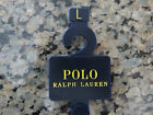 Polo RALPH LAUREN Men's Large Striped Green Red Navy Cotton and Leather Belt