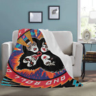 Custom Kiss Rock Lightweight Super Soft Microfiber Fleece Bed Throw Blanket image