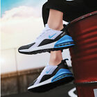 38-46 Mens Breath Sports Shoes Trainers Sneaker Running Air Cushion Laces Up