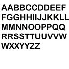 Alphabet & Number Abc A-z 123   Vinyl Decal Sticker Sheets 3 Designs