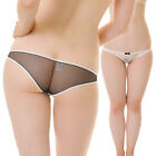 Cute Super Low Rise Bikinis Panties lace and See through made in Japan T183