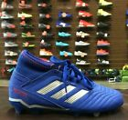 Adidas JR PREDATOR 19.3 FIRM GROUND Soccer CLEATS Shoes - CM8533