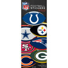 3 Pack of Officially Licensed NFL Football Shape Stickers - Pick Your Team!!! on eBay