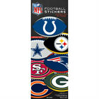 3 Pack of Officially Licensed NFL Football Shape Stickers - Pick Your Team!!! $3.0 USD on eBay