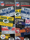 6 Pack of Officially Licensed NFL Vintage Banner Stickers - Who's Your Team?! $5.5 USD on eBay