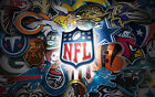 3 Pack of Officially Licensed NFL Logo Stickers - Pick Your Favorite Team! $3.0 USD on eBay
