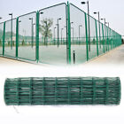 Green Metal Fence Pvc Coated Steel Mesh Fencing Wire Galvanised Chicken Garden