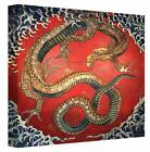 HOKUSAI Dragon Reproduction Painting Canvas print Wall Art Picture Print