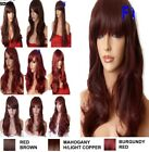 Brown Highlight ginger Light Brown Long Curly Straight Fashion Women fashion WIG