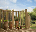 Beaded Top Treated Softwood Balustrade Kits 1800mm Rails, Spindles & Posts