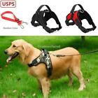 Dog Harness Large No Pull Reflective Adjustable Nylon with Handle S/M/L/XL