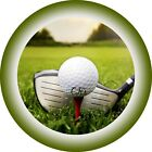 Golf 7 Inch Edible Image Cake & Cupcake Toppers/ Party/ Birthday