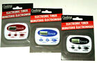 Cooking Concepts ELECTRONIC TIMER Black Blue Red Your Choice Battery Included photo
